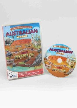 WINK to LEARN Animal Encyclopedic DVD: Australian Wildlife & Asian Reptiles (English)
