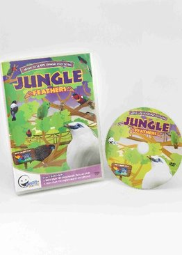WINK to LEARN Animal Encyclopedic DVD: Jungle Feathers (English)