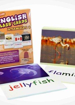 WINK to LEARN English Flash Cards - Intermediate 3