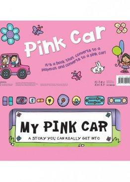Convertible My Pink Car (Pink Jeep)