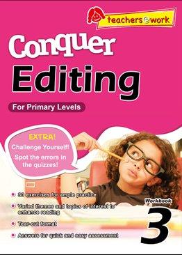 Conquer Editing Workbook 3