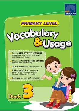 Primary Level Vocabulary and Usage Book 3