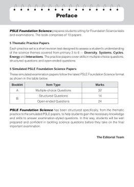 PSLE Foundation Science