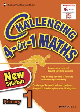 Challenging 4-In-1 Maths 1