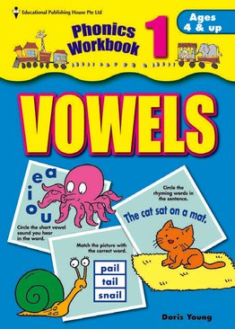 Phonics Workbook Series - Vowel