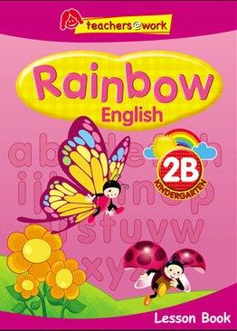 Rainbow English Lesson Book K2B