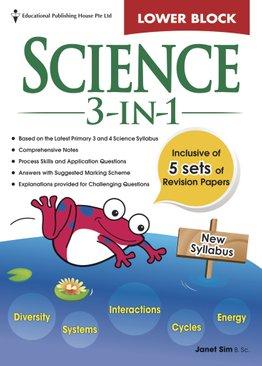 Science 3-in-1 - Lower Block Pri 3/4
