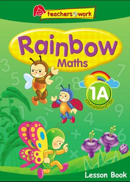 Rainbow Maths Lesson Book K1A