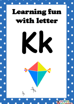 Learning fun with letter Kk!