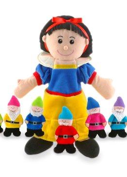 Snow White & Seven Dwarfs Hand & Finger Puppet Set