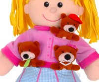 Goldilocks and the Three Bears Hand & Finger Puppet Set