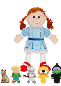 Wizard of Oz Hand & Finger Puppet Set