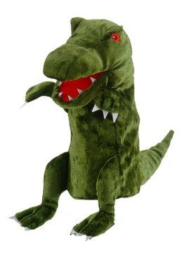 Green Dinosaur Puppet