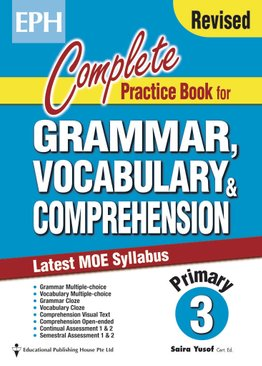 Complete Practice Book For Grammar, Vocabulary & Comprehension 3
