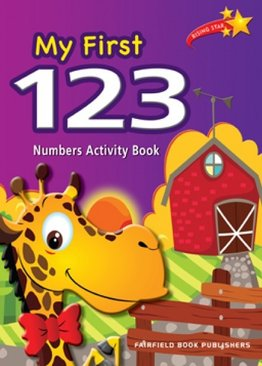 My First 123 Numbers Activity Book
