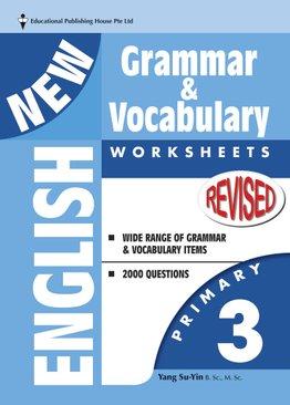 New English Grammar & Vocab Worksheet - Primary 3