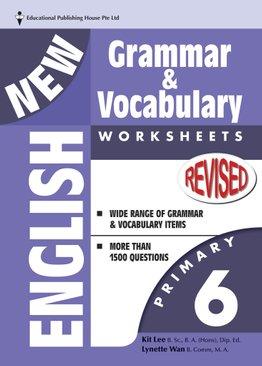 New English Grammar & Vocab Worksheet - Primary 6