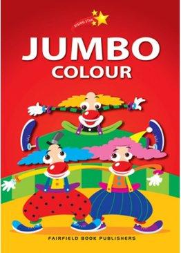 Rising Star Jumbo Colouring Book