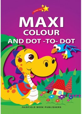 Rising Star Maxi Colouring Book