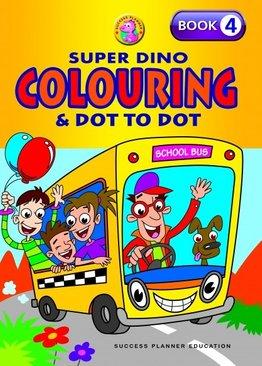Super Dino Colouring Book 4