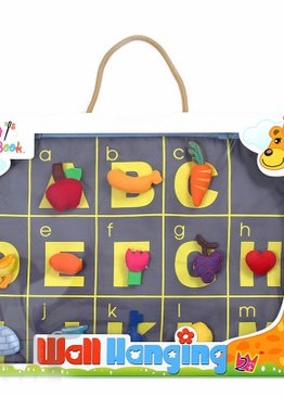 ABC Factory Fabric Hanging Chart