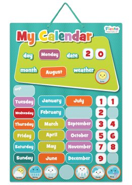 Magnetic Calendar Multi