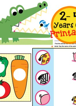 Go Go Series Printables 2-4 Years Old