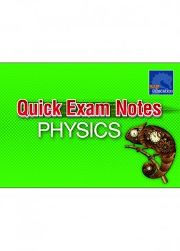 Quick Exam Notes Physics