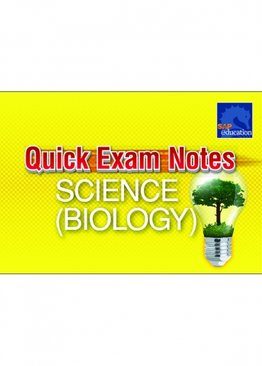 Quick Exam Notes Science (Biology)