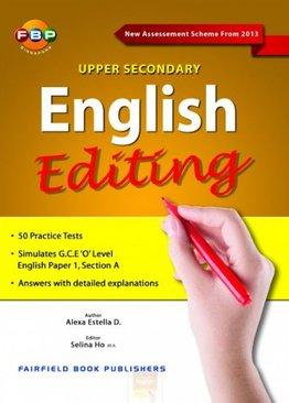 English Editing Upper Secondary