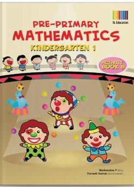 Pre-Primary Math Kindergarten 1 Activity Book B