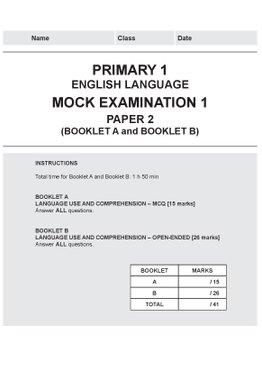 Primary 1 English Mock Examinations