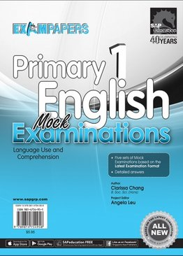 Primary 1 English Mock Examinations