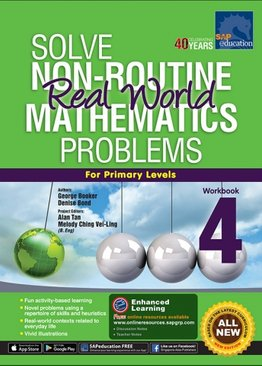 Solve Non-Routine Real World Mathematics Problem Workbook 4