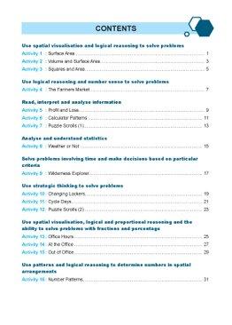 Solve Non-Routine Real World Mathematics Problem Workbook 6