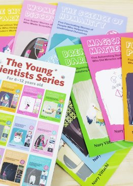 THE YOUNG SCIENTISTS SERIES (12 vol)