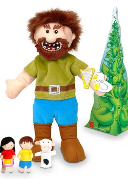 Jack & the Beanstalk Hand & Finger Puppet Set