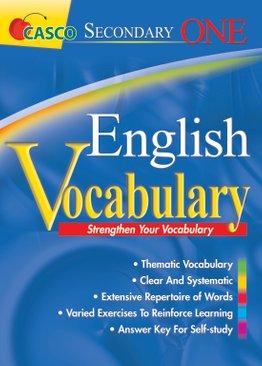 Sec 1 English Vocabulary