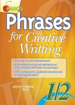 Phrases for Creative Writing 1/2
