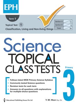 Science Topical Class Tests 3