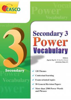Sec 3 Power Vocabulary