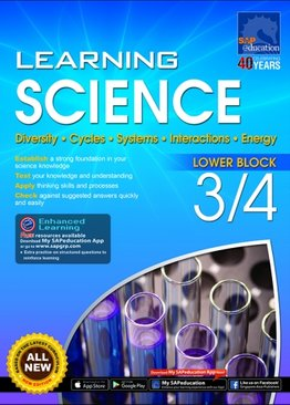 Learning Science Lower Block 3/4 [Diversity, Cycles, Systems, Interactions, Energy]