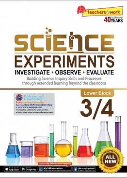 Science Experiments Lower Block 3/4