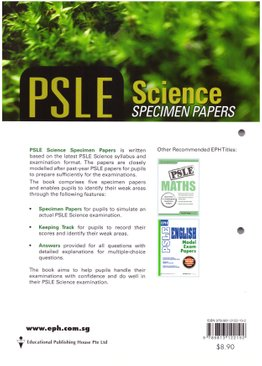 PSLE Science Specimen Papers