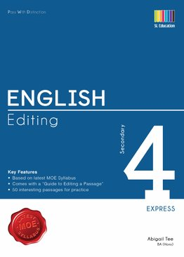 Pass With Distinction English Editing Secondary 4E