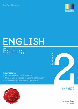 Pass With Distinction English Editing Secondary 2E