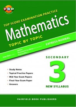 Maths Top Score Examination Practice Topic by Topic S3