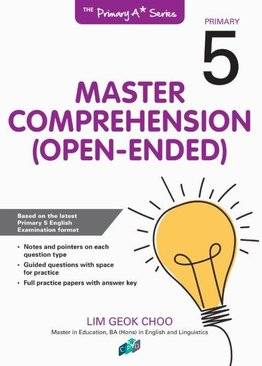 Master Comprehension Open-Ended P5