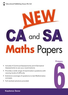 New CA And SA Maths Papers 6