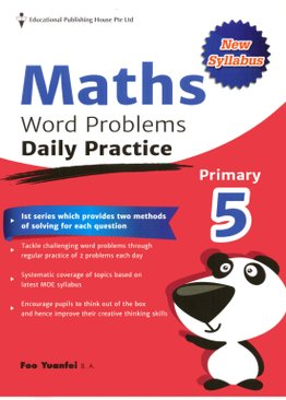 Maths Word Problems Daily Practices 5 (New Syllabus)